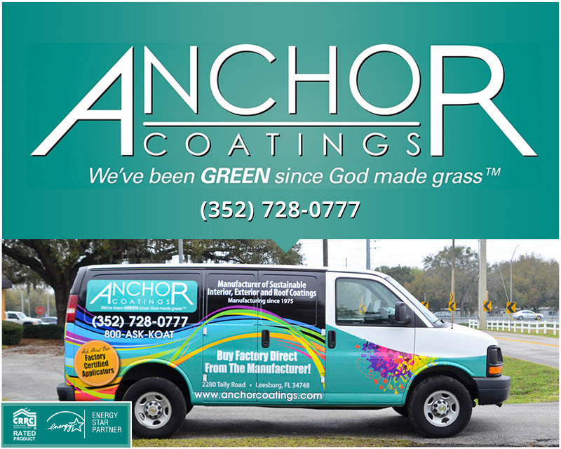 ANCHOR COATINGS, Inc.