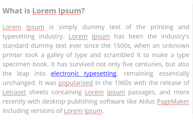 BLOG TEXT WITH DESIRED FORMATTING