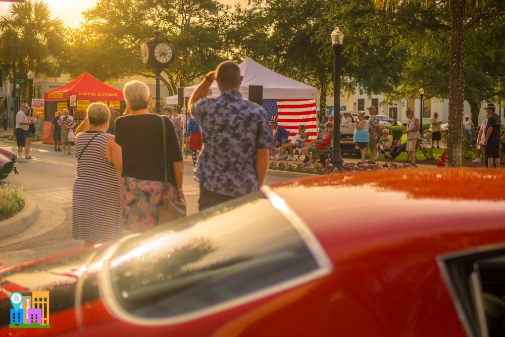 July Downtown Leesburg Cruise In