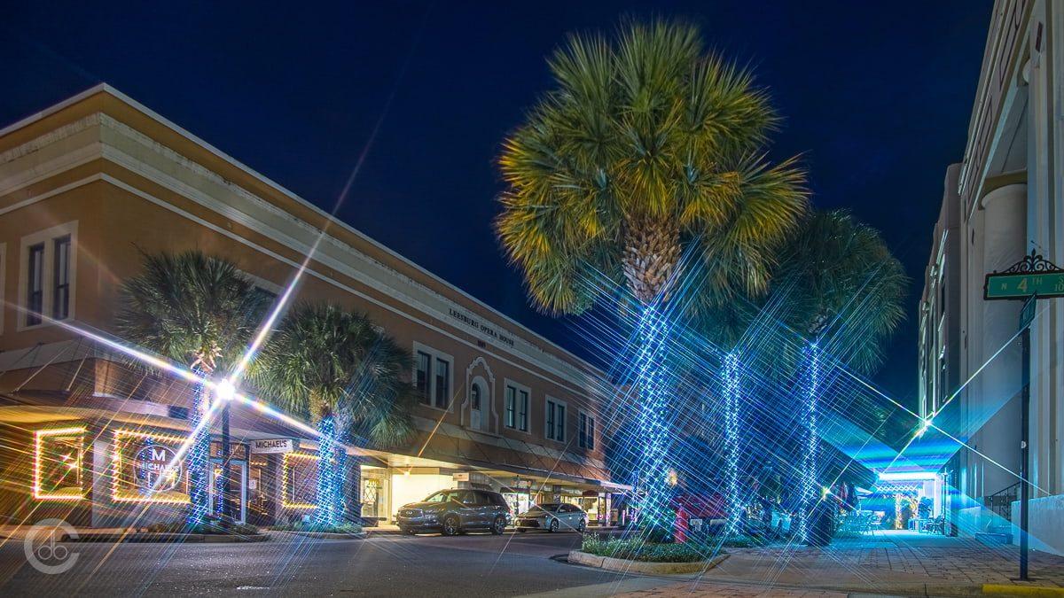 Week 33: Photo of the Week - Downtown Leesburg at Night